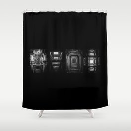 Indian Step Well Composition #1 Shower Curtain