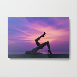 Amethyst Evening Metal Print