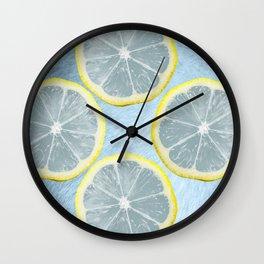 Lemon lemonade lemons Wall Clock