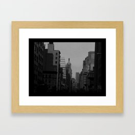 Black and White NYC 3 Framed Art Print