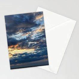 East Coast sunset Stationery Cards