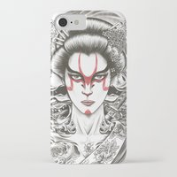 geisha iPhone & iPod Cases featuring Geisha by Demones