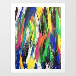 Colours of the Wind Art Print