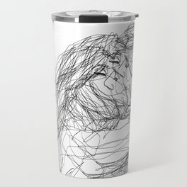make-out? (B & W) Travel Mug