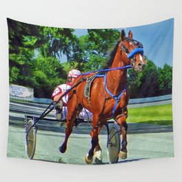 The Backstretch Wall Tapestry