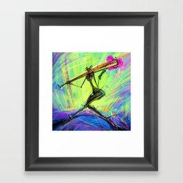 H Q Framed Art Print