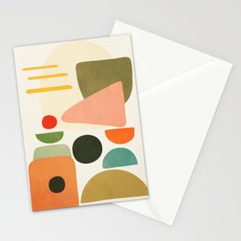 Modern Abstract Art 71 Stationery Cards