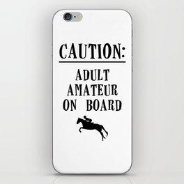 Adult Amateur iPhone Skin