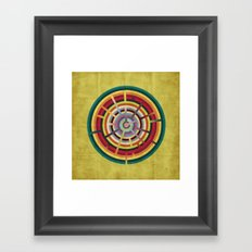 Lost in color Framed Art Print