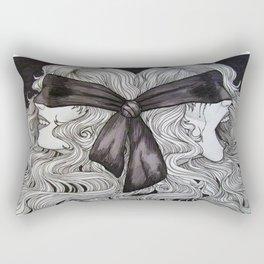 Bipolar Disorder Rectangular Pillow