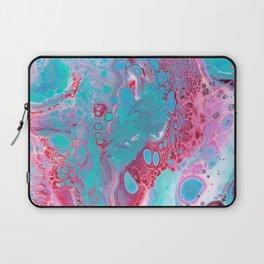 Pink Flowed Laptop Sleeve