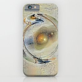 Peaceful Quandary iPhone Case