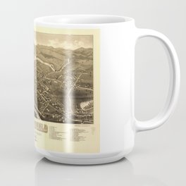 Aerial View of Pittsfield, New Hampshire (1884) Coffee Mug