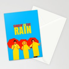 Singin In The Rain Stationery Cards