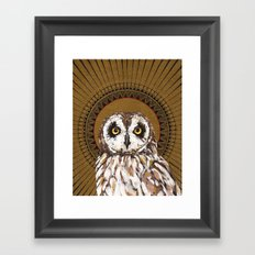 Kana Pueo Framed Art Print