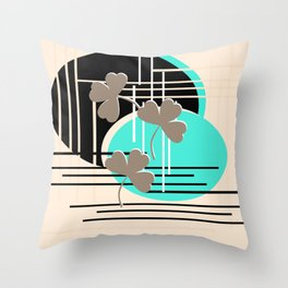 Saint Patrick, abstraction 2 Throw Pillow