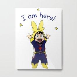 Little Deku, I am Here! Metal Print