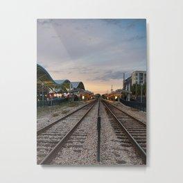 Downtown Station Metal Print