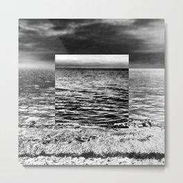 Square - Sea Metal Print