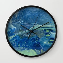 In Depths Unknown Wall Clock