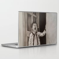 good morning Laptop & iPad Skins featuring Good morning! by Amy Fan