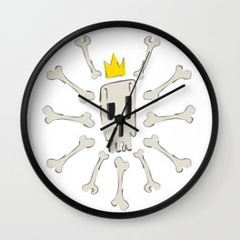 Skeleven Wall Clock