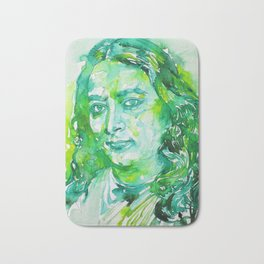 PARAMAHANSA YOGANANDA - watercolor portrait Bath Mat