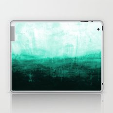 Paint 8 abstract minimal modern water ocean wave painting must have canvas affordable fine art Laptop & iPad Skin