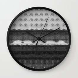 Far Under The Earth:  Version One Wall Clock