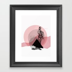 Waiting For ... Framed Art Print