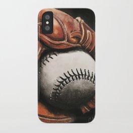 Baseball and Glove iPhone Case