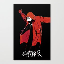 CYPHER Canvas Print