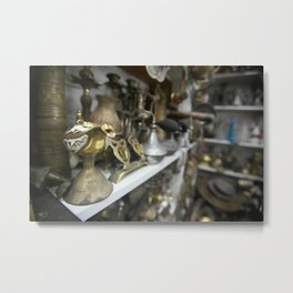 Arab Merchant Shop Metal Print