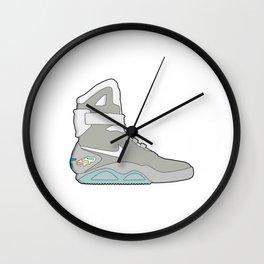 Air Mag grey - back to the future Wall Clock