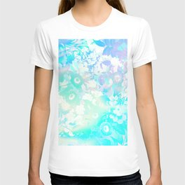 Floral Dream Pastel Hologram T-shirt