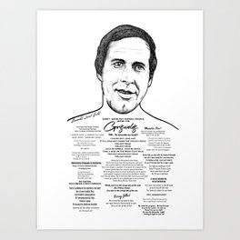 Clark Griswold - National Lampoon Ink'd Series Art Print