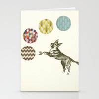 games Stationery Cards featuring Ball Games by Cassia Beck