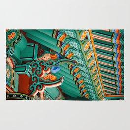 Hwaeomsa Temple Decorative Roof Rug