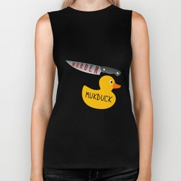 That's Why it's Called Murder and not Mukduck Biker Tank