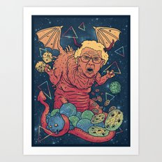 Dungeons & Dentures Art Print