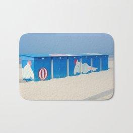Beach cabins Bath Mat