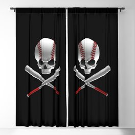 Phantom Ballplayer Blackout Curtain