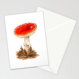 Fairy tale mushroom Stationery Cards