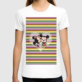 Minnie & Mickey Love T-shirt