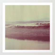 Oregon Polaroid Art Print