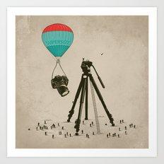 Supersize Cam Attraction Art Print