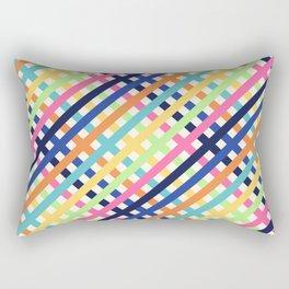 OverlaXes Strips Rectangular Pillow