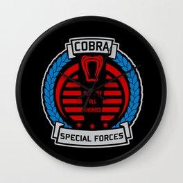 Cobra - Special Forces Wall Clock