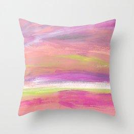Serendipitous Skies Throw Pillow