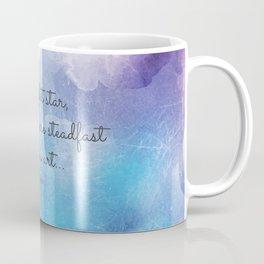 Bright star, would I were steadfast as thou art... Keats Coffee Mug